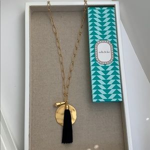 Stella & Dot Carla Tassel Necklace